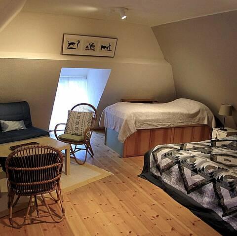 Wohn- und Schlafbereich Obergeschoss